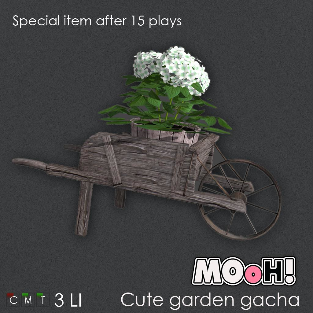 MOoH! Cute garden gacha special