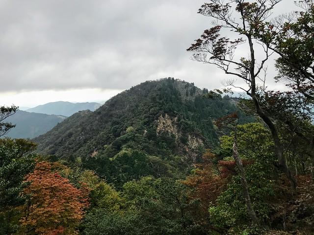 仙ヶ岳 東峰より西峰