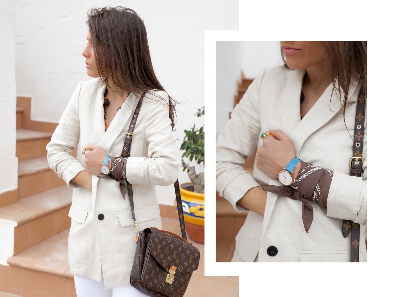 Nude and white. Perfect work outfit with presto fly Nike. cluse codigo promocional