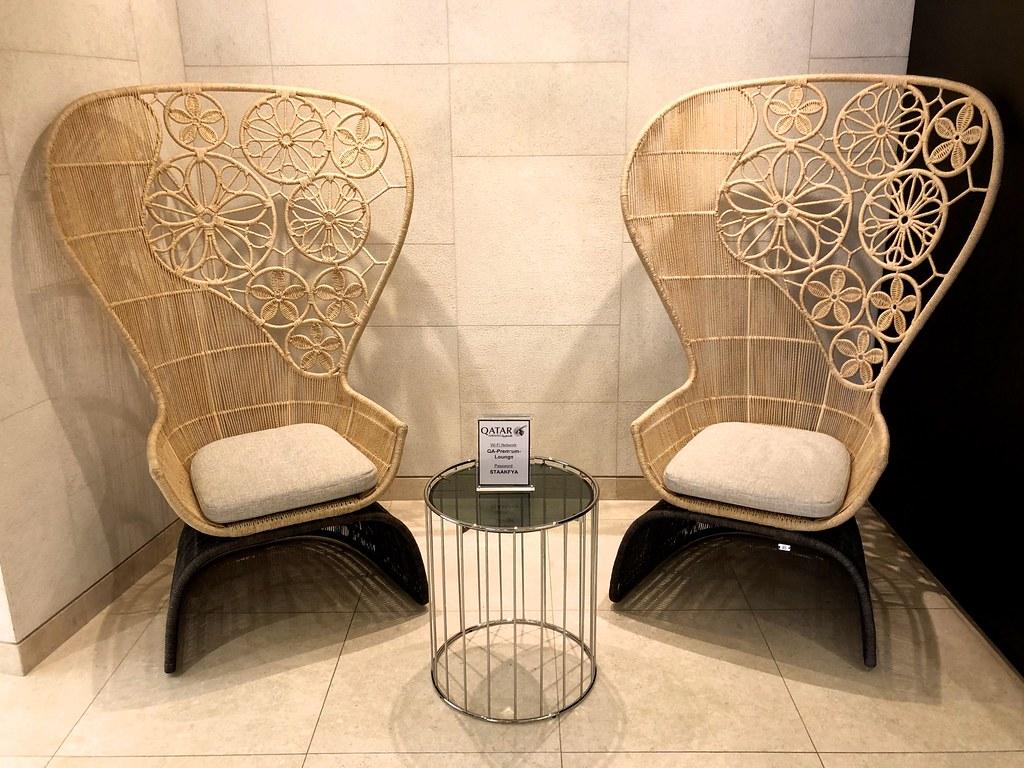 Qatar lounge at Paris CDG 41