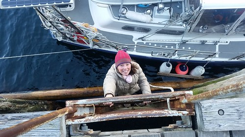 Low tide climb Nuuk