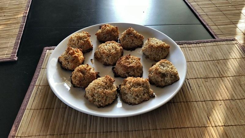Очень простое и быстрое кокосовое печенье