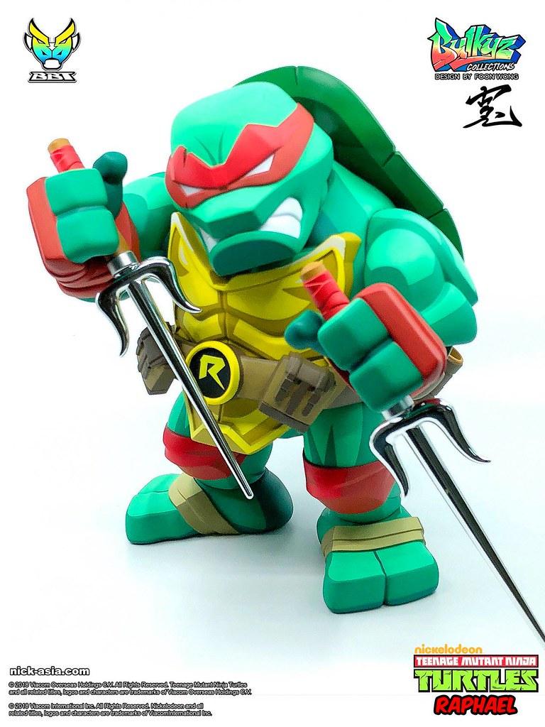 團隊裡的壞囝仔!!BigBoyToys Bulkyz Collection 系列《忍者龜》拉斐爾 Raphael 豪華版