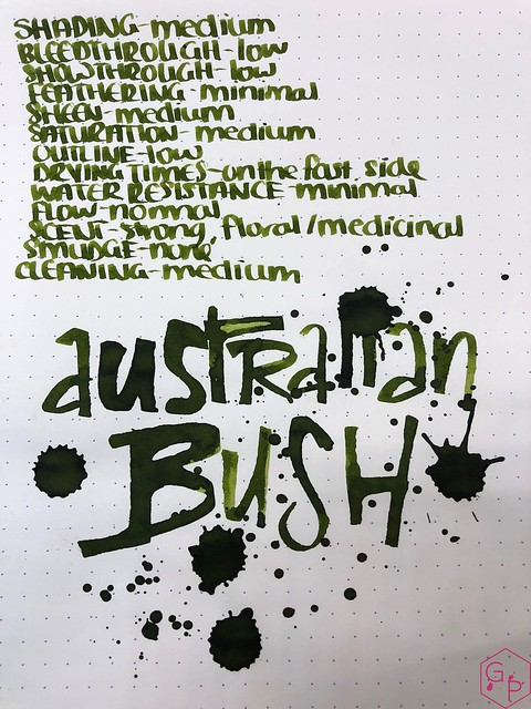 Blackstone Australian Bush Ink Review @AppelboomLaren 10
