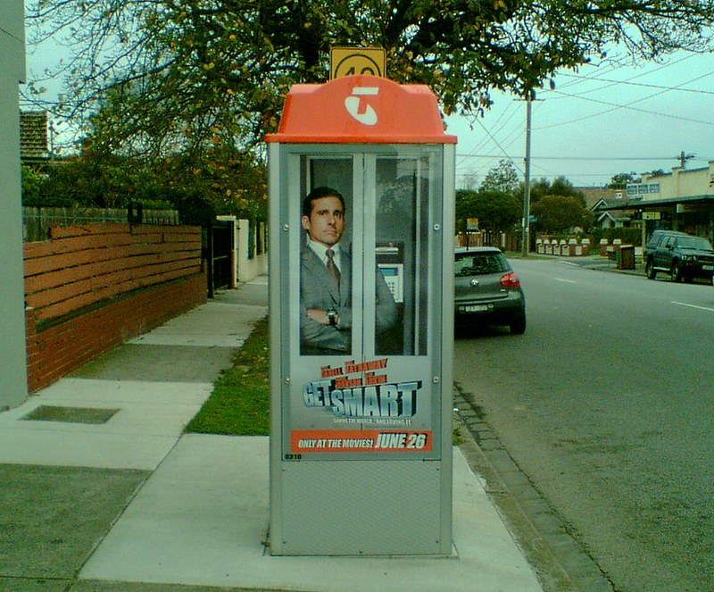 Get Smart movie advertising, June 2008