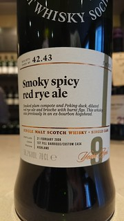 SMWS 42.43 - Smoky spicy red rye ale