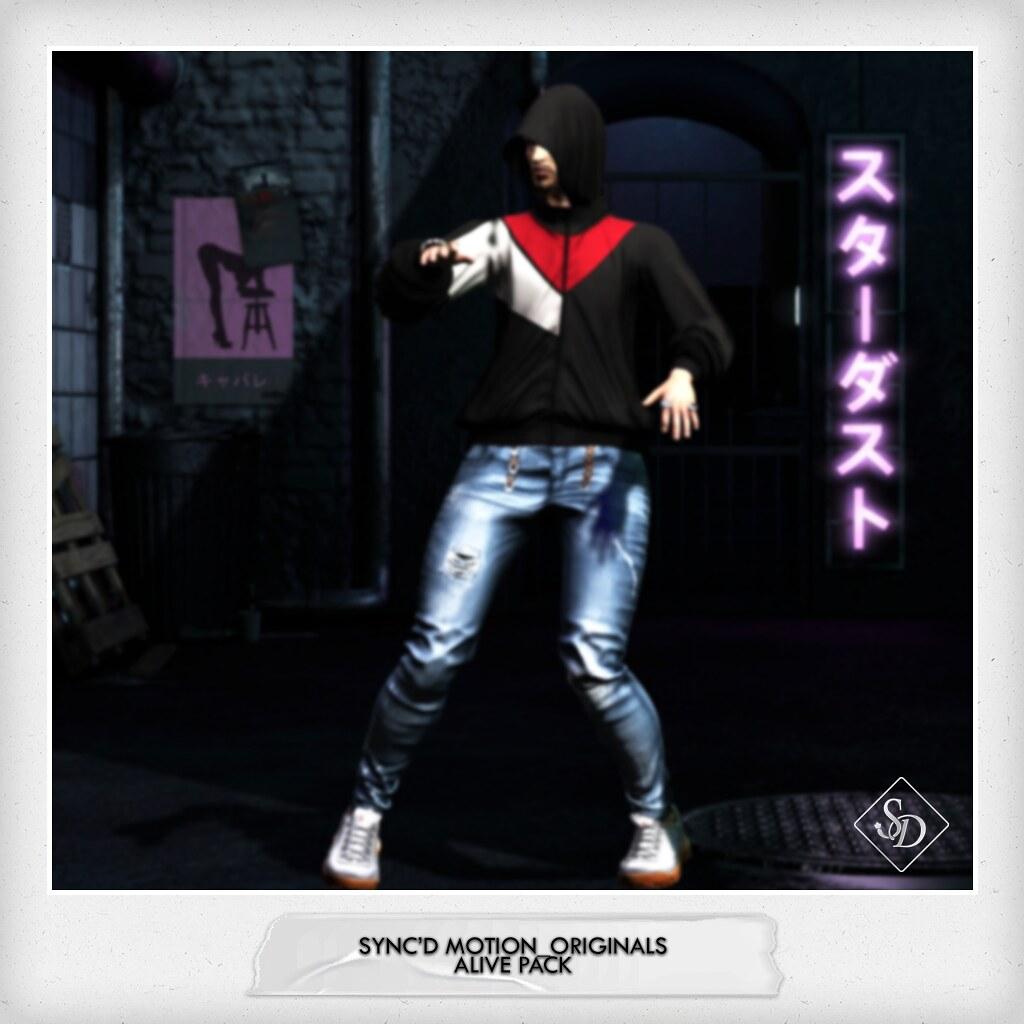 Sync'D Motion__Originals - Alive  Pack