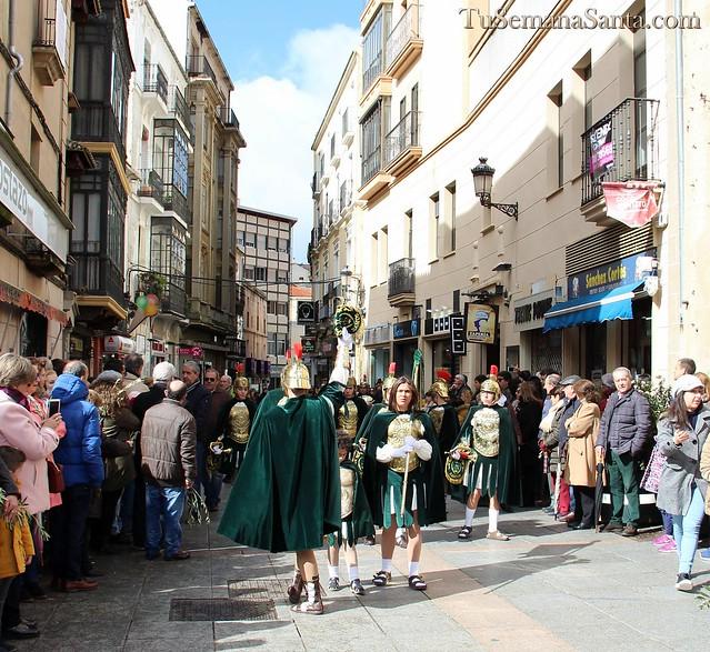 Domingo de Ramos. Procesión de la Burrina