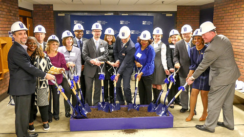 New Nursing and Health Sciences Center Groundbreaking