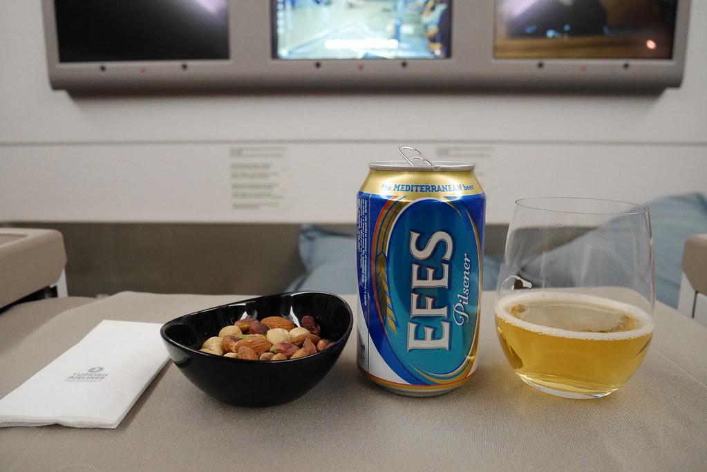 土耳其航空商務艙點心時間