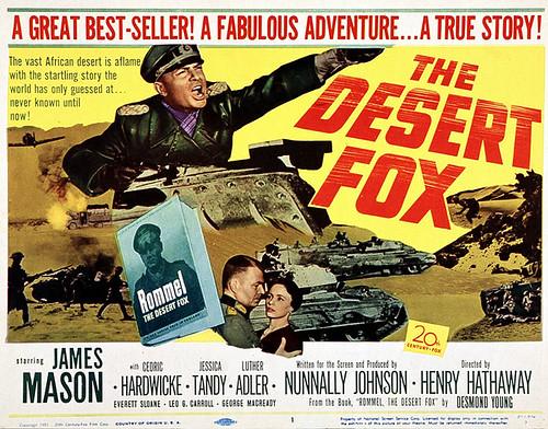 The Desert Fox - Poster 1