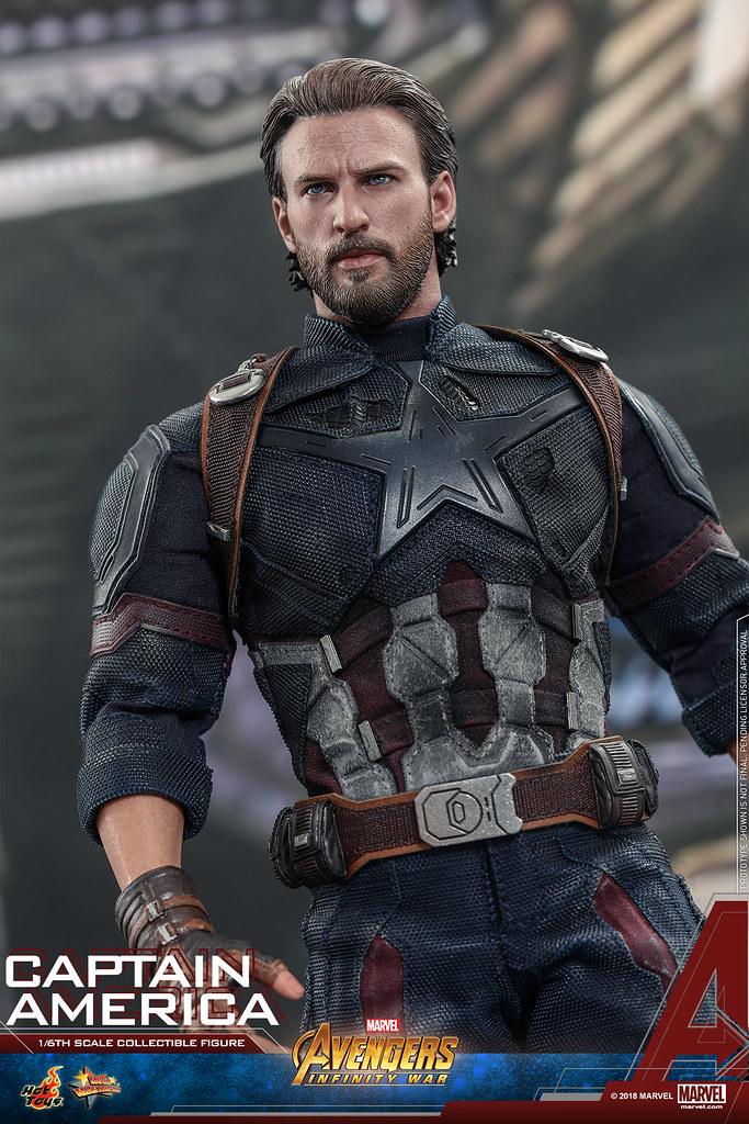 【神秘武器公開!】Hot Toys - MMS480 - 《復仇者聯盟:無限之戰》1/6 比例 美國隊長 Avengers: Infinity War Captain America