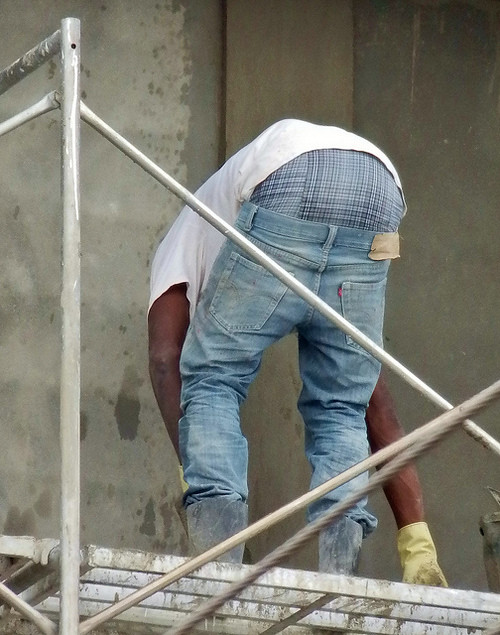 Workman's baggy jeans
