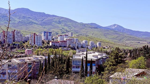 Cityscape in April