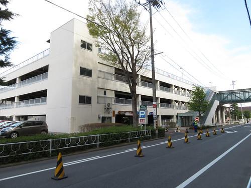 福島競馬場の第一駐車場