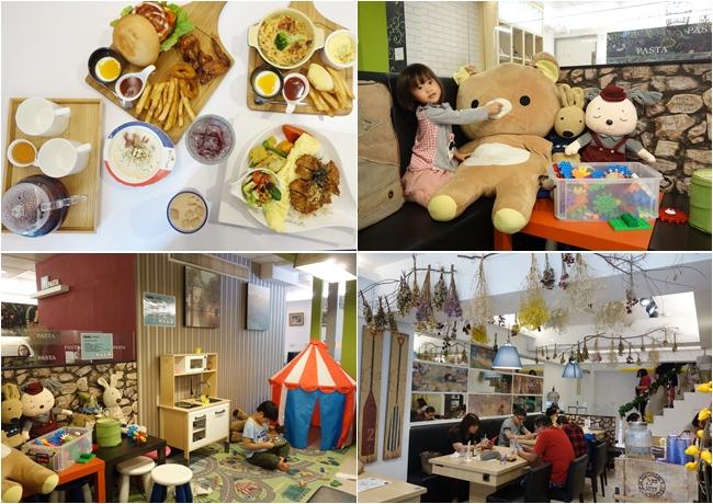 《新竹.香山》親子友善餐廳 Mumu白姆森林~平價超值義式複合式料理,手繪插畫、乾燥花布置超有氣氛,附遊戲區,近青青草原