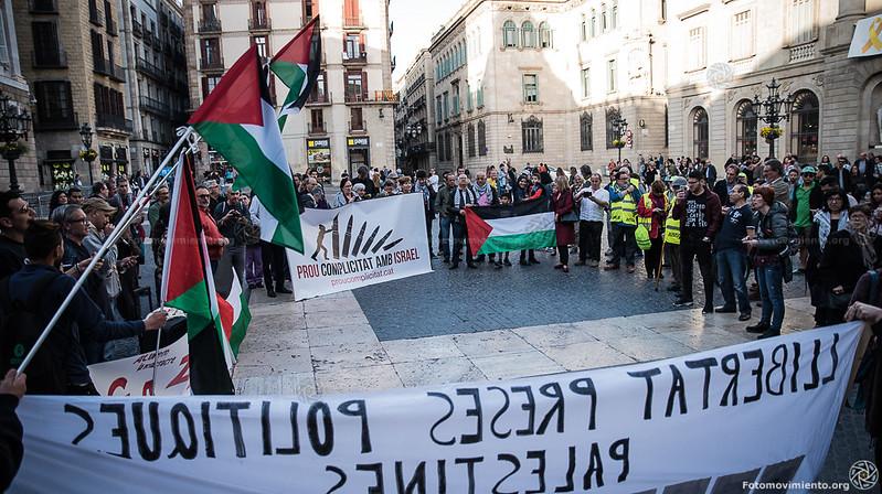 2018_04_19 Contra la masacre de Israel en Gaza_Joanna Chichelnitzky(01)