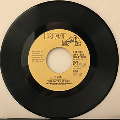 THE NITE-LITERS:K-JEE(RECORD SIDE-A)