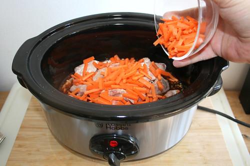 25 - Möhrenstifte addieren / Add carrots
