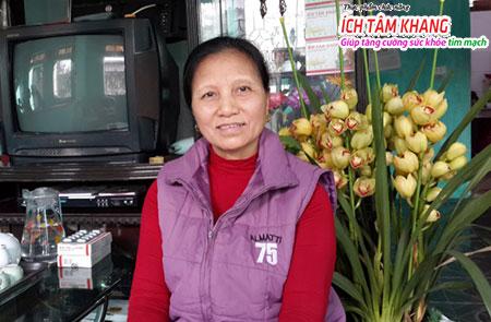 bà Lại Thị Nhung (TT chất đốt, đường Âu cơ, P.Trần Quang Khải, TP Nam Định) đã tìm được sản phẩm hỗ trợ bệnh hiệu quả.