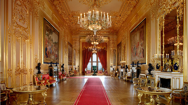 Windsor Castle State Rooms courtesy of the Royal Collection Trust