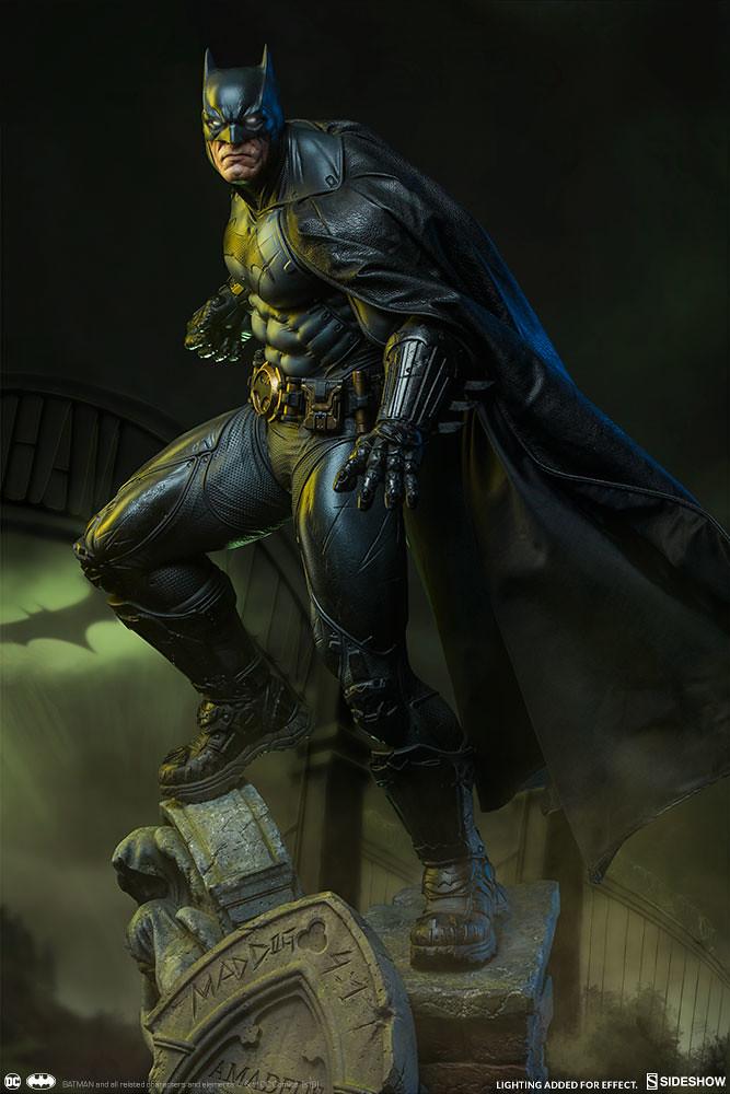 威壓魄力再升級,高譚的壞蛋小心啦~! Sideshow Collectibles Premium Format Figure 系列 DC Comics【蝙蝠俠】Batman 1/4 比例全身雕像作品