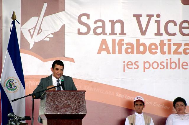 Juramentación de Voluntarios Alfabetizadores y Comisión Departamental de San Vicente (1)