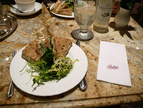 Lunch at Bettys