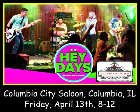 The Hey Days 4-13-18