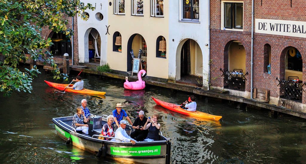 Discover Utrecht, The Netherlands, by kayak (photo by Jurjen Drenth) | Your Dutch Guide