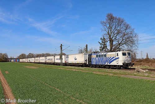 151 056 Lokomotion in Bornheim am 06.04.2018