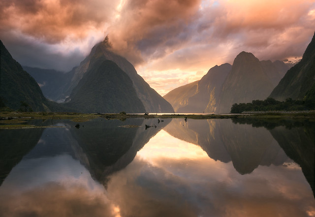 Milford Sound Dramatic Clouds