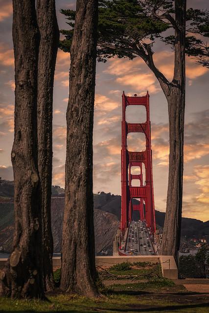 Golden peak, San Francisco