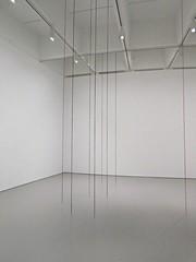 Untitled Sculptural Study, Twelve-Part Vertical Construction by Fred Sandback