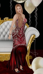 Shoenique Designs Valentine Gown BSM