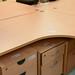 14X12 beech desk E125