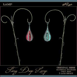 Lilith's Den - Fairy Drop Lamp