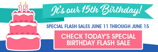 Fat Quarter Shop Birthday Sales