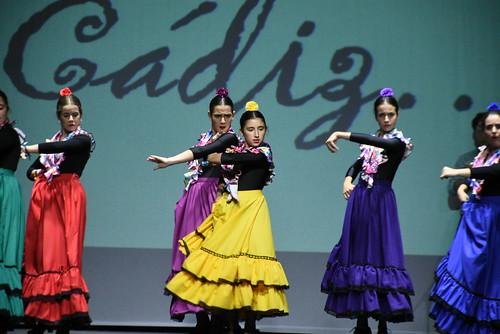 Espectáculo Andalucía, Tierra mía de la Escuela de Danza Ana Ortega en Vistazul