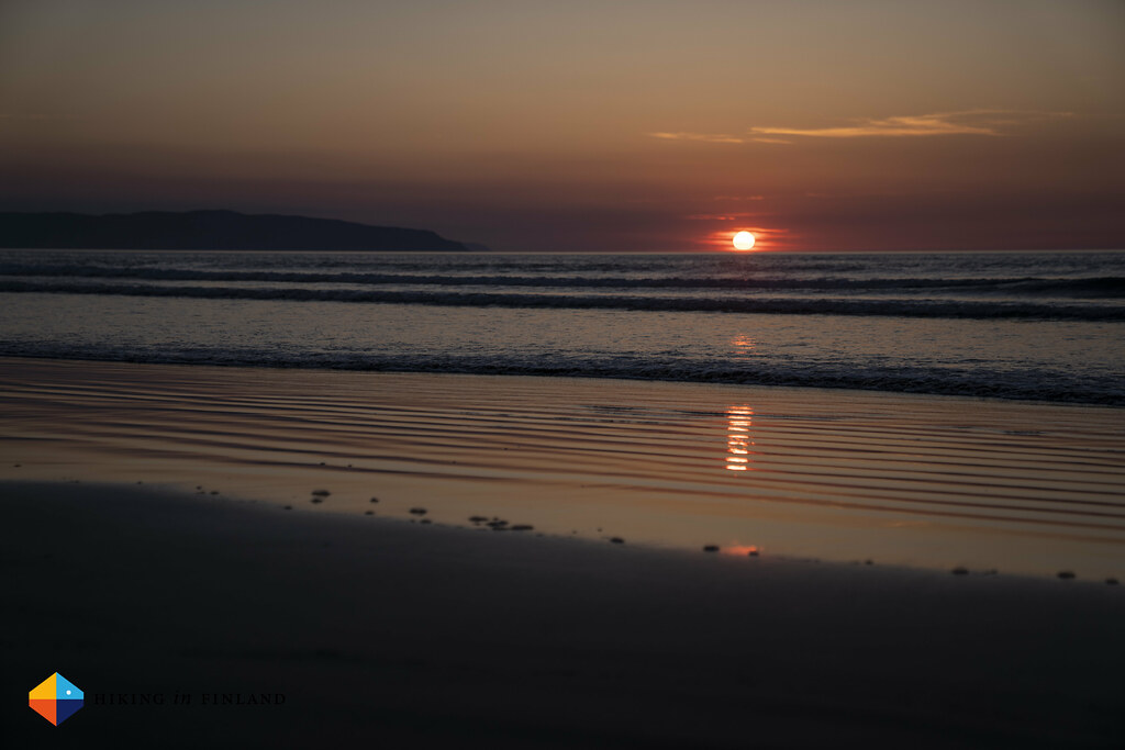 Sunset at Portstewart Strand