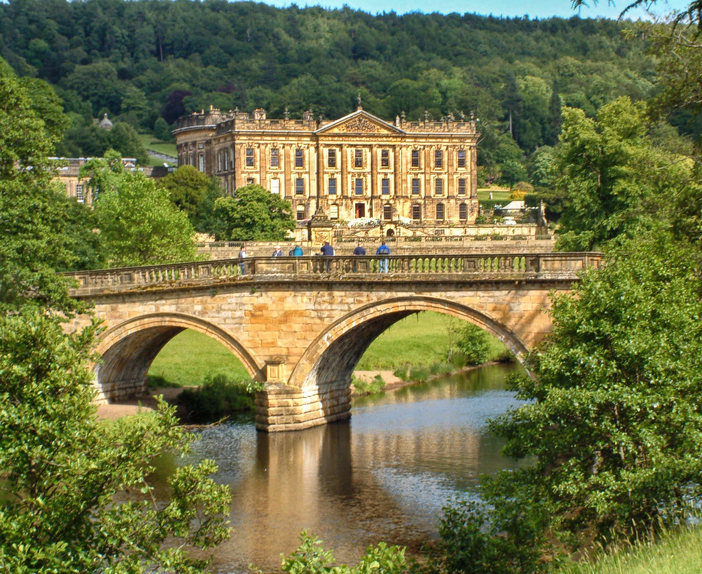 Chatsworth House, Derbyshire. Credit Rob Bendall