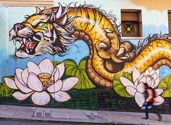 Chinatown (SFO) Mural