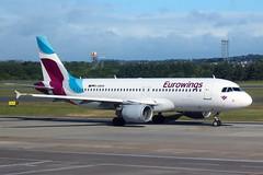 Airbus A320 D-ABHN Eurowings - Edinburgh Airport 14/6/18