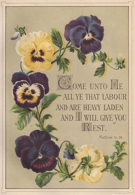 1888 Matthew 11:28