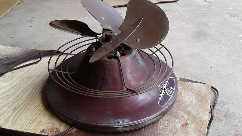 Fasco L55A Hassock Fan Restoration