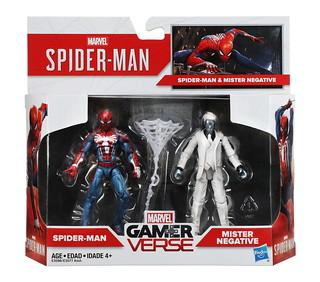 孩之寶《漫威蜘蛛人》3.75 吋 蜘蛛人vs.負極先生 雙人包 & 6 吋電玩版蜘蛛人 Marvel Spider-Man PS4 Hasbro Figures 公開!!