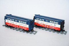 State of Maine Boxcars