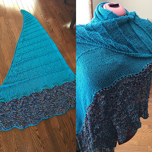 Angela's Project Peace 2017 shawl❤️