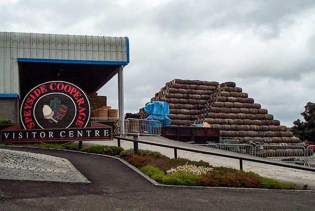 Speyside Cooperage where alls the barrels get refurbished