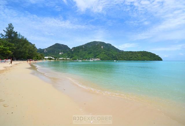 phuket krabi itinerary koh phi phi beach